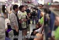 Hành khách nam nhổ bậy bị tống cổ khỏi tàu điện ngầm Trung Quốc