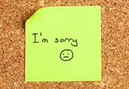 Những cách nói xin lỗi trong tiếng Anh
