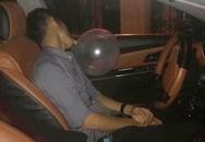 """Hải Phòng: Nam tài xế gây tai nạn liên hoàn khi đang """"thổi bóng"""""""