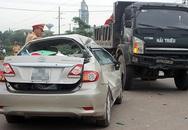 Vợ chồng chủ nhiệm Ủy ban kiểm tra tỉnh Quảng Trị gặp nạn vì va chạm xe tải