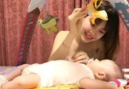 Cách cho con bú không hỏng vòng một của Á hậu Diễm Trang