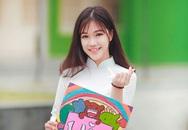 Nữ sinh chuyên Nguyễn Huệ duyên dáng trong tà áo dài