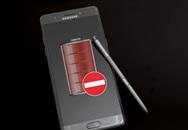 Samsung chặn sạc pin với tất cả Galaxy Note 7