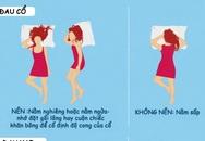Nếu đang bị đau đầu, đau lưng bạn không nên nằm ngủ theo tư thế này