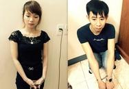 """Cô gái xinh đẹp và bạn trai bị bắt ở nhà nghỉ cùng """"hàng nóng"""""""