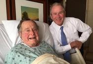 Cựu tổng thống Mỹ Bush cha nhập viện ở tuổi 92