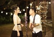 """""""Yêu nữ"""" Vũ Hạnh Nguyên và nhạc sĩ Nguyễn Đức Cường công khai tình yêu"""