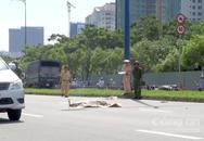 Tông dải phân cách, người phụ nữ bị xe tải cán tử vong