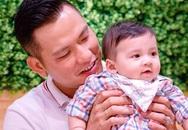 Con trai 6 tháng tuổi của Jennifer Phạm thừa hưởng hết nét đẹp của bố lẫn mẹ