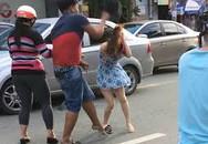 Phẫn nộ trai hèn đánh phụ nữ sau va chạm giao thông