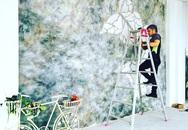 Kiếm hàng chục triệu đồng nhờ vẽ tranh tường sống động y như thật