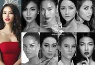 Hoa hậu Hoàn vũ Việt Nam 2017 bị 'bao vây' bởi dàn ngôi sao Vietnam's Next Top Model