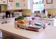 Bếp sang trọng thành nhếch nhác vì vợ nghiện sắm đồ