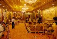 """Lóa mắt với khách sạn dát 6 tấn vàng ròng, muốn vào xem phải """"đeo kính râm"""""""