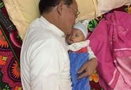 Bố chồng giặt chậu quần áo hộ con dâu mới sinh khiến bao người ngưỡng mộ