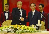 Chủ tịch nước Trần Đại Quang chiêu đãi Tổng thống Mỹ Donald Trump