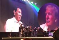 Tổng thống Philippines hát tình ca tặng Tổng thống Mỹ