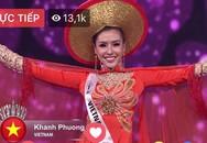 Người đẹp Khánh Phương vào top 25 Hoa hậu Siêu quốc gia
