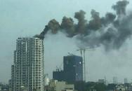 Hà Nội: Cháy lớn tại chung cư cao cấp gần hồ Tây