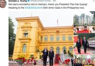 Tổng thống Mỹ cảm ơn Việt Nam trên mạng xã hội