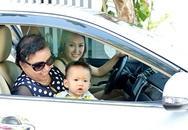 Phi Thanh Vân lái xe chở mẹ và con trai đi nghỉ dưỡng ở biệt thự sang trọng sau đổ vỡ hôn nhân