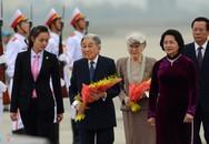 24 giờ đầu tiên ở Hà Nội của Nhà vua và Hoàng hậu Nhật Bản