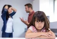 Cha mẹ tranh cãi ảnh hưởng xấu tới trẻ hơn cả ly hôn