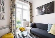 Sau cải tạo, căn hộ 45m² này đã thay đổi ngoạn mục về cả thẩm mỹ lẫn công năng