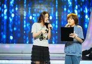 Văn Mai Hương thích thú khi song ca với học trò Thiên Khôi