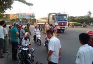 Thai phụ 6 tháng bị kéo lê dưới gầm xe ben