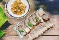 Thịt quay giòn bì không cần lò nướng
