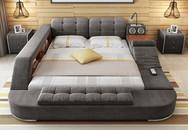 """Có chiếc giường đa năng """"chất"""" thế này thì chỉ muốn nằm lì cả ngày để tận hưởng"""