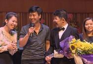 Câu chuyện về tình cha con của nghệ sĩ Quốc Tuấn được vinh danh