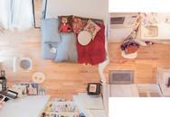 Căn hộ tí hon chưa đầy 20m² vừa đẹp, vừa gọn dù nhiều đồ của nữ nhiếp ảnh trẻ