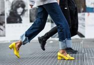 Những quy tắc kết hợp màu sắc giày cao gót thật chuẩn cùng trang phục