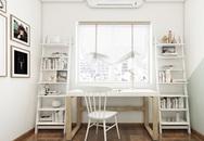 Hoàn thiện nội thất cho căn hộ 100m² đơn giản mà sinh động chỉ với 200 triệu
