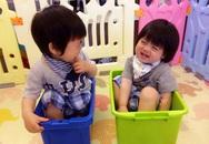 Lâm Chí Dĩnh khoe ảnh cặp song sinh 1 tuổi rưỡi