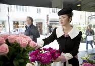 Lý Nhã Kỳ mặc quý phái khi viếng mộ Công nương Grace Kelly ở Monaco