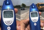 Cảnh nắng nóng 47 độ C khiến đường Hà Nội bốc hơi