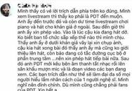 Fan khẳng định Phan Đinh Tùng không đi diễn muộn và bắt nạt đàn em