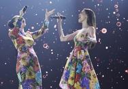 Hồ Ngọc Hà chọn váy cho Thu Minh mặc để hát cùng nhau