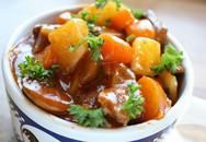 Thơm lừng nồi thịt bò sốt vang cho bữa tối ngày se lạnh