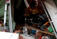 Container tông 4 nhà dân, gần 10 người thoát chết