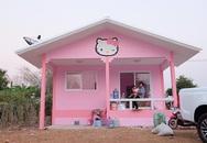 Chiều con, bố mẹ bỏ ra hàng trăm triệu xây ngôi nhà Kitty tặng con gái 3 tuổi