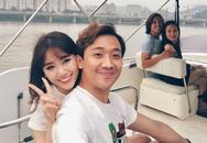 Trấn Thành - Hari Won say đắm hôn nhau trên du thuyền
