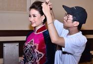 Diễn viên Việt Trinh bất ngờ trở lại đẹp mặn mà bên HH Qúy bà Sương Đặng