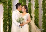 Trung Kiên liên tục hôn Lê Phương trong tiệc cưới ở Sài Gòn