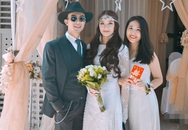 Cận mặt vợ xinh như hot girl của Trần Tú trong lễ đính hôn