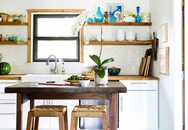 """5 mẹo thiết kế biến căn bếp """"tí hon"""" trở nên rộng rãi"""