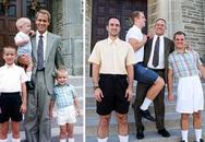 Tình anh em trong các bức ảnh 'Ngày ấy - bây giờ'